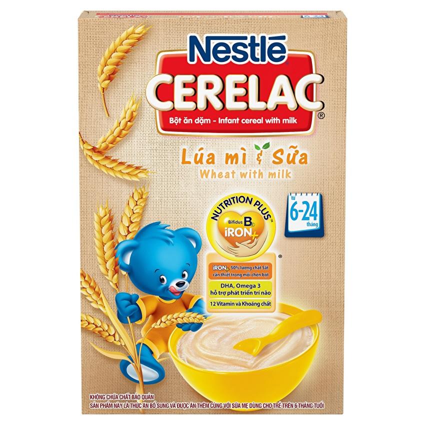Bột ăn dặm Nestlé